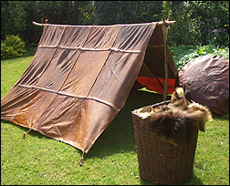 Basic Leather Tent & Comitatus