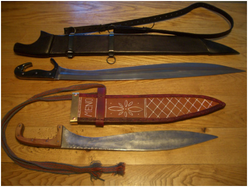 knives from greece